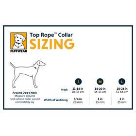 Ruffwear Top Rope Dyreartikler grøn